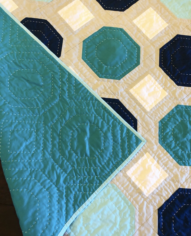Hand Quilting Baby Quilt