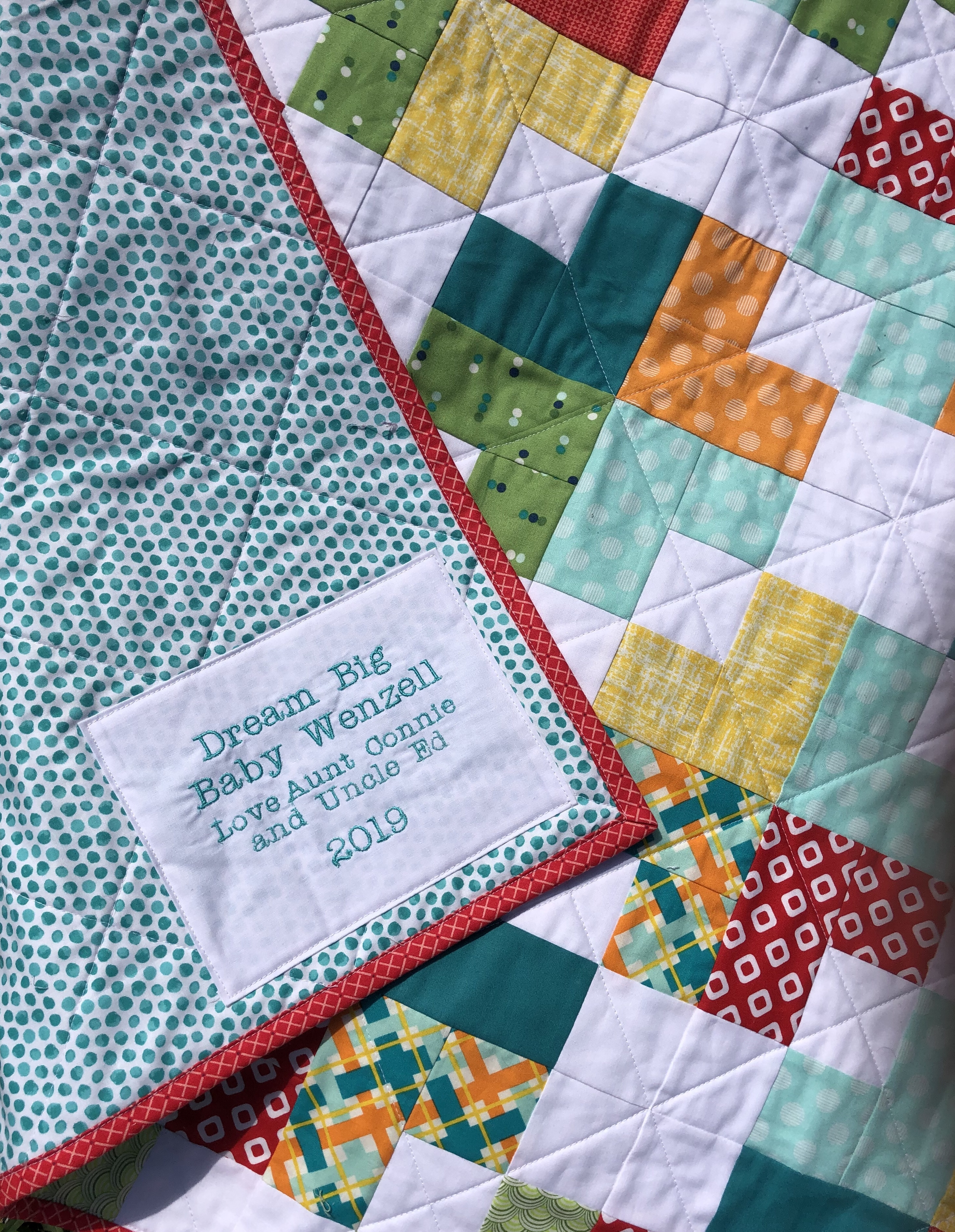 How to Label Your Quilt