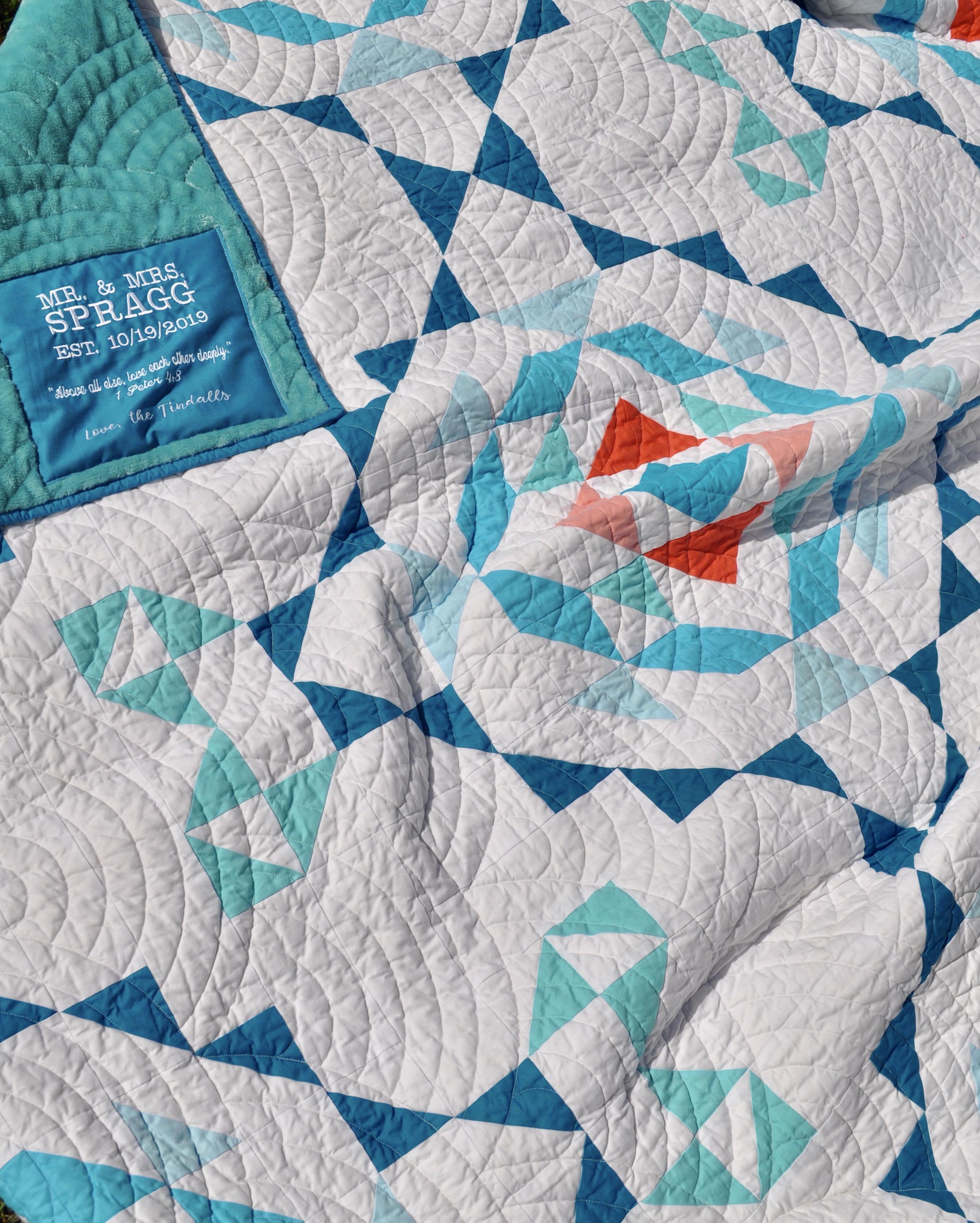 AccuQuilt Vintage Lace Quilt