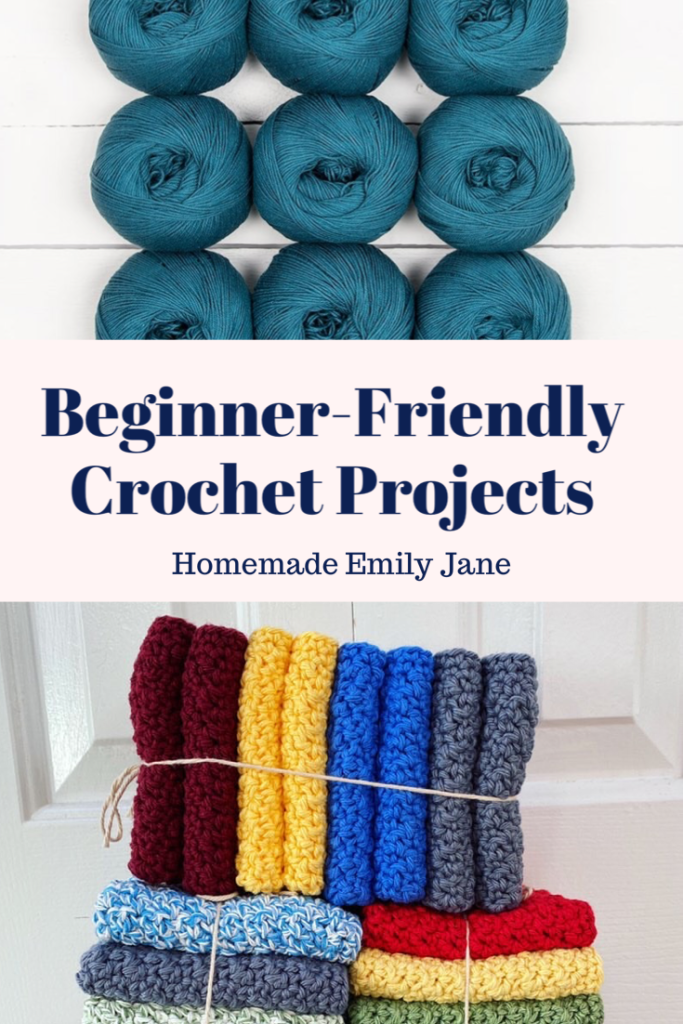 Beginner Friendly Crochet Patterns and Projects