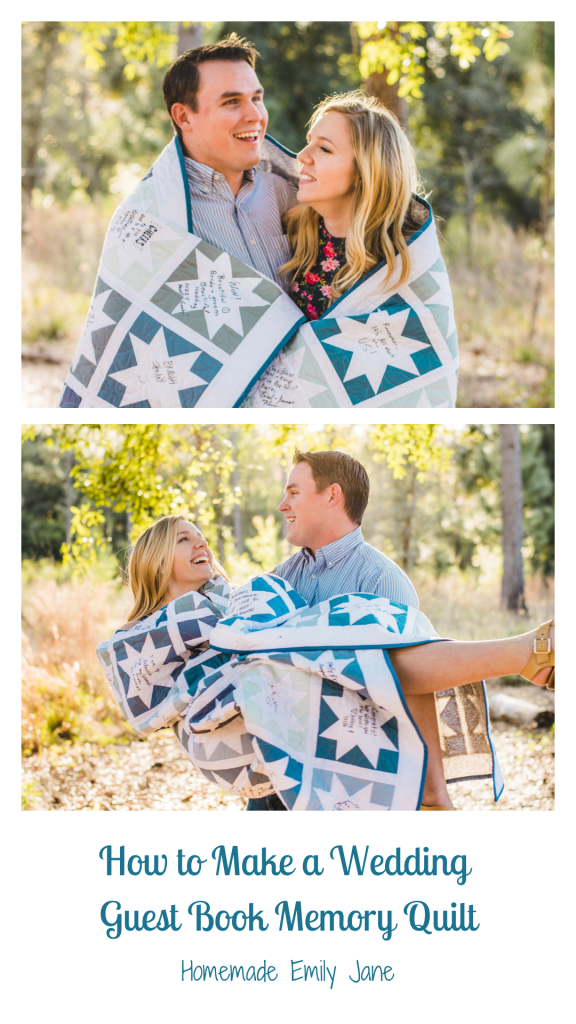 How to make a Signed Memory Quilt, wedding, graduation, birthday